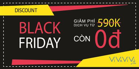 BLACK FRIDAY 02.12.2016 CÙNG VIVAVIVU