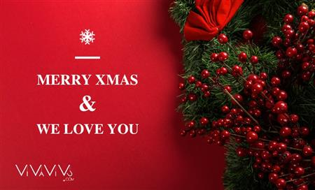 Merry Christmas & We love you!